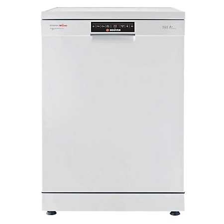 Hoover DYM762TWIFI, Wizard Full-size Smart Dishwasher with Wi-Fi -  A+ Energy Rating - White. Ex-Display
