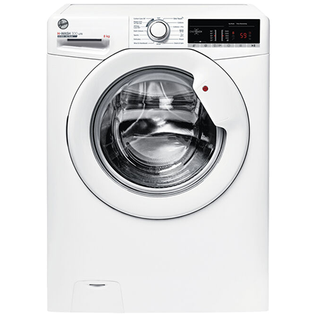 Hoover H3W58TE, 8kg 1500 Spin Washing Machine with NFC Connection - White