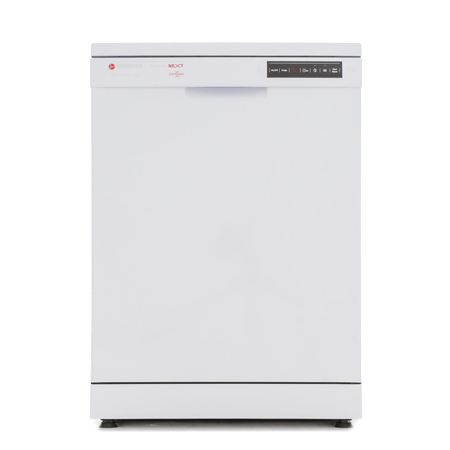 Hoover HDP1D039W, Full Size Dishwasher with 13 Place Settings and Delay Timer in White