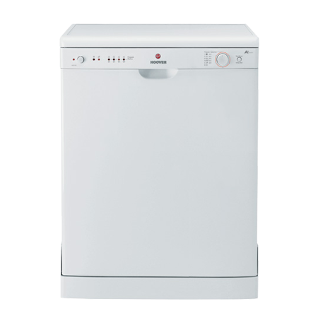 Hoover HED120W, Freestanding Dishwasher with 12 Place setting &  A+ Energy Rating - White