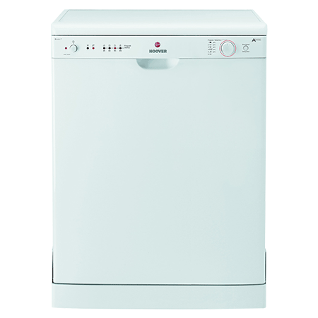 Hoover HED122W, 12 Place Setting 60cm Dishwasher with A+ Energy Rating in White