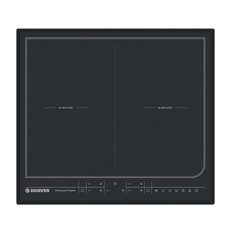 Hoover HESD4WIFI, Wizard Wi-Fi 60cm Flexible Induction Hob - Black