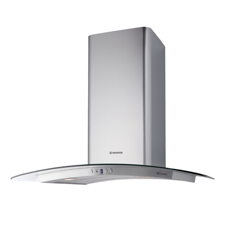 Hoover HHV67SLXWIFI, 60cm Wizard Smart Chimney Cooker Hood - Stainless Steel