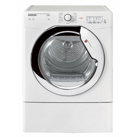 Hoover HLV8LCG, 8kg Vented Dryer White with Sensor