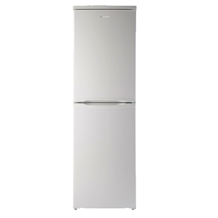 Hoover HVBS5162WK, Freestanding Static Fridge Freezer with A+ Energy Rating - White
