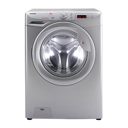 Hoover VT914D22S, Freestanding 9 kg 1400rpm Washing Machine with A++ Energy Rating - Silver