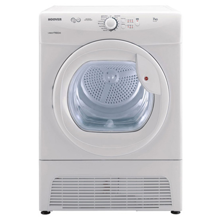 Hoover VTC671W, Freestanding 7kg Condenser Dryer in White