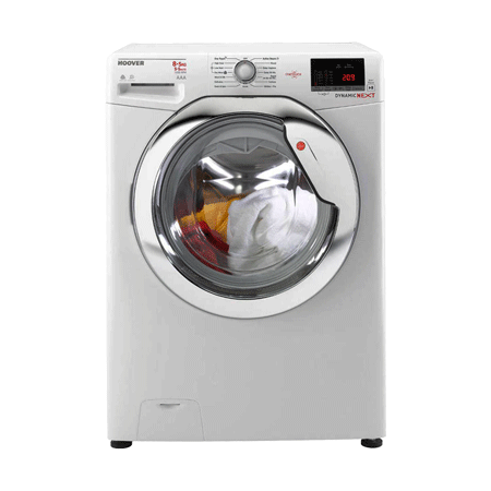 Hoover WDXOC585C, 8kg Washer / 5kg Dryer White) 1500RPM