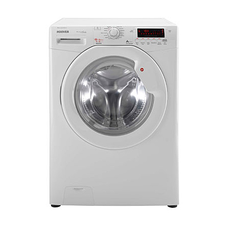 Hoover WDYN8615D8P, DYNAMIC 8+ 1600rpm Washer Dryer 8kg/5kg Load Class A - White.Ex-Display Model