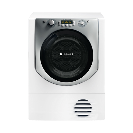 Hotpoint AQC9BF7E1, Freestanding 9kg Condenser Dryer in White