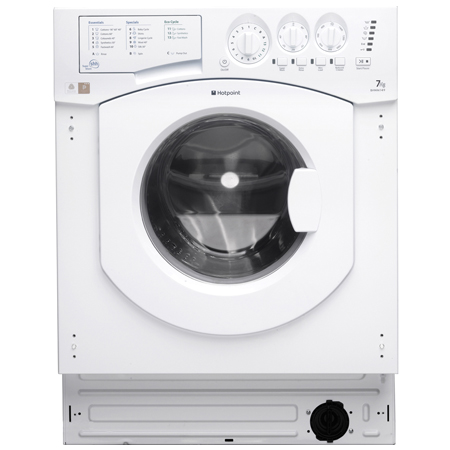 Hotpoint BHWM1492, Built-In 7kg Washing Machine