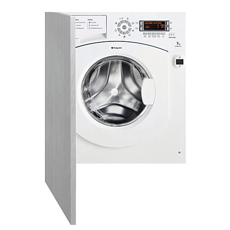 Hotpoint BHWMED149, 7kg 1400rpm Built-In Washing Machine, A++ Energy Rating - White