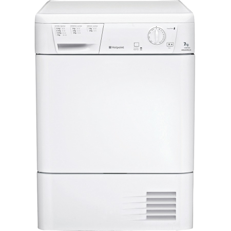 Hotpoint CDN7000BP, 7kg Condenser Dryer White, Freestanding