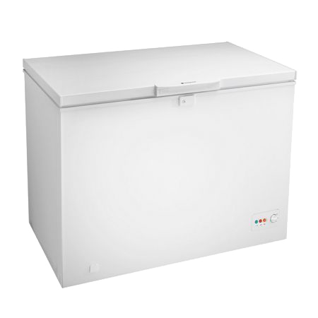 Hotpoint CS1A250H, Freestanding Chest Freezer with A+ Energy efficiency rating.