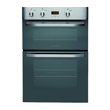 Hotpoint DHS53XS, Electric Double Oven Stainless Steel - Built-In.