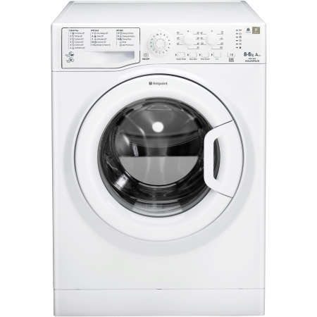 Hotpoint FDEU8640P, 85x59.5x54 8kg 1400rpm Washer Dryer White