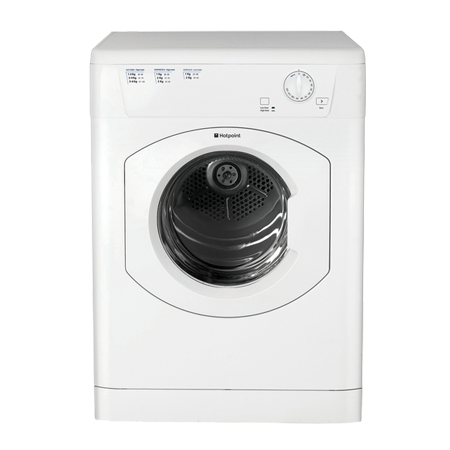 Hotpoint FETV60CP, Freestanding 7Kg Vented Tumble Dryer - White