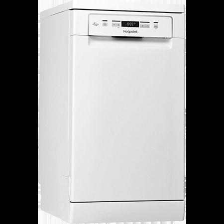 Hotpoint HSFCIH4798FS, Slimline Dishwasher - White - 10 Place Settings