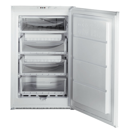 Hotpoint HZ1422, Built-In Freezer with slider hinge, A+ Energy Rating