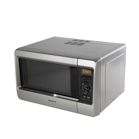 Hotpoint MWH2422MS, Microwave Grill in Silver. Ex-Display Model