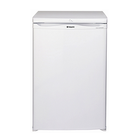 Hotpoint RSAAV22P, Freestanding Undercounter Fridge  with A+ Energy Rating - White