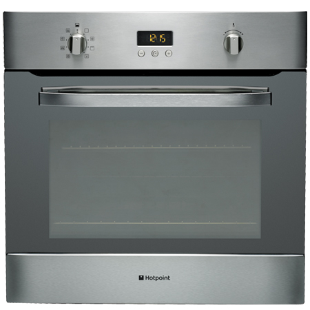 Hotpoint SH89PXS, Pyrolytic Multifunction Single Oven in Stainless Steel