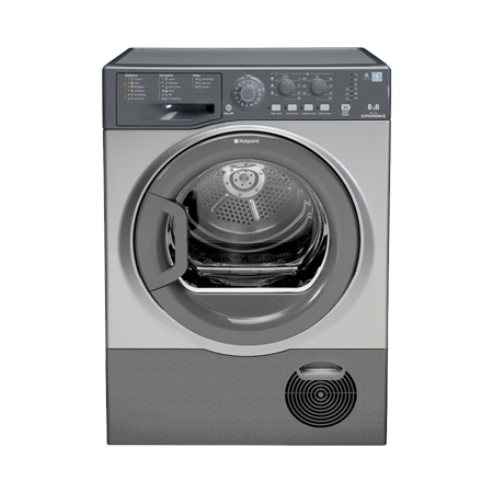 Hotpoint TCEL87B6GUK, Freestanding 8kg Condenser Dryer in Grey