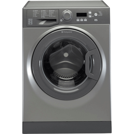 Hotpoint WMBF742G, Freestanding 7kg 1400rpm Washing Machine in Graphite with A++ Energy rating. Ex-Display Model