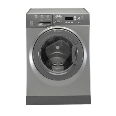 Hotpoint WMEUF743G, 7kg 1400rpm Washing Machine Graphite
