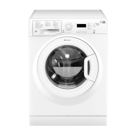 Hotpoint WMEUF743P, 85x60x52 7kg 1400rpm Washing Machine GreenWhite