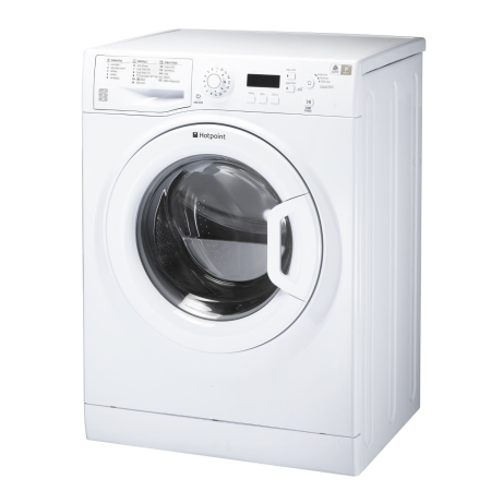 Hotpoint WMEUF944P, 85x60x61 9kg 1400rpm Washing Machine GreenWhite