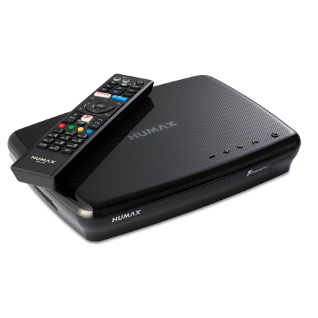 Humax FVP5000T500GBBL, Freeview 500GB HDD Recorder Black