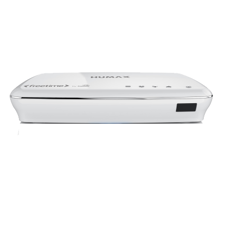 Humax HDR1100S1TBWH, Freesat 1tb HDD Recorder White.Ex-Display Model