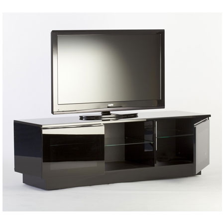 ICONIC OBELISK 1500BLK, Obelisk Range Modern Contemporary TV Cabinet for Flat Screen TVs