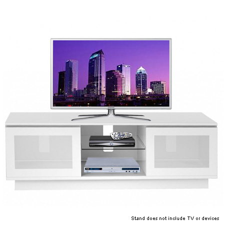 ICONIC OBELISK 1500WH, Cabinet for up to 60 TVs in White.Ex-Display