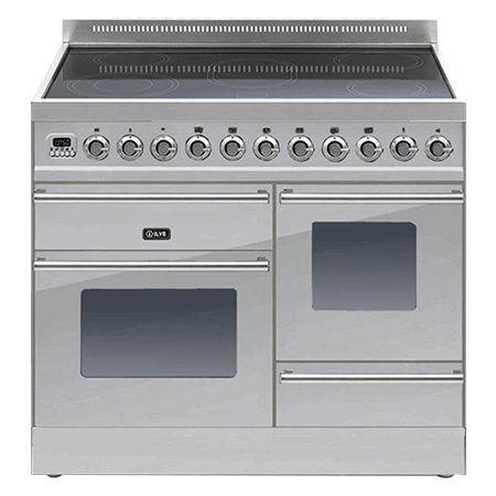 ILVE PTWI100E3, 100cm XG Induction Range Cooker with 6 Zone Induction Hob (Choose from a variety of colours)