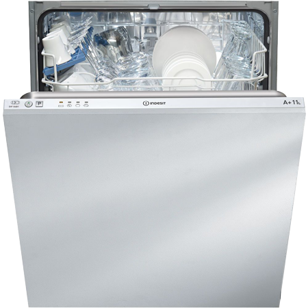 Indesit DIF04B1, Fully-Integrated Dishwasher with 13 Place Settings