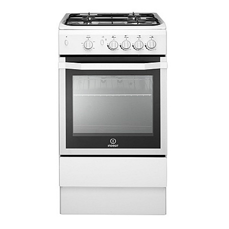 Indesit I5GGW, Gas with LPG Option Cooker