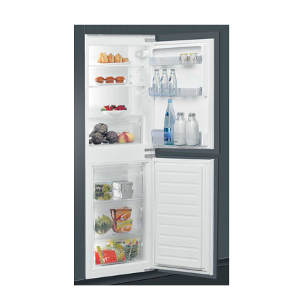 Indesit IB5050A1D, 5050 Built-In Combi Fridge Freezer with A+ Energy Rating