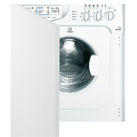 Indesit IWDE126UK, Fully-Integrated 7kg Washer / 5kg Dryer