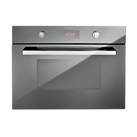Indesit MWI424MR, Built-In Microwave Grill - Stainless steel