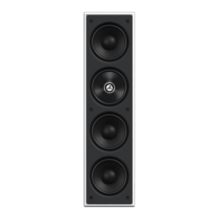 KEF CI4100QL, THX Certified in wall speaker