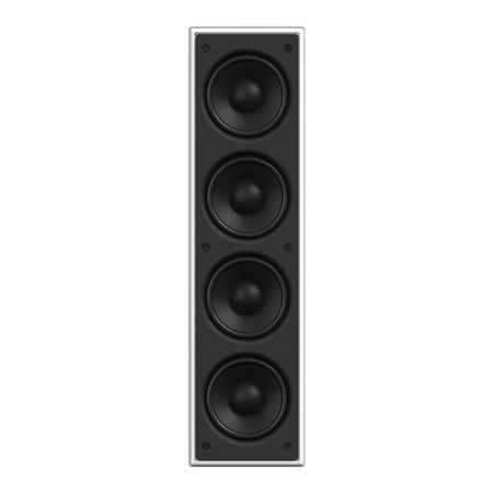 KEF Ci4100QLB, In Wall Sub for use with KAS500 Amplifier