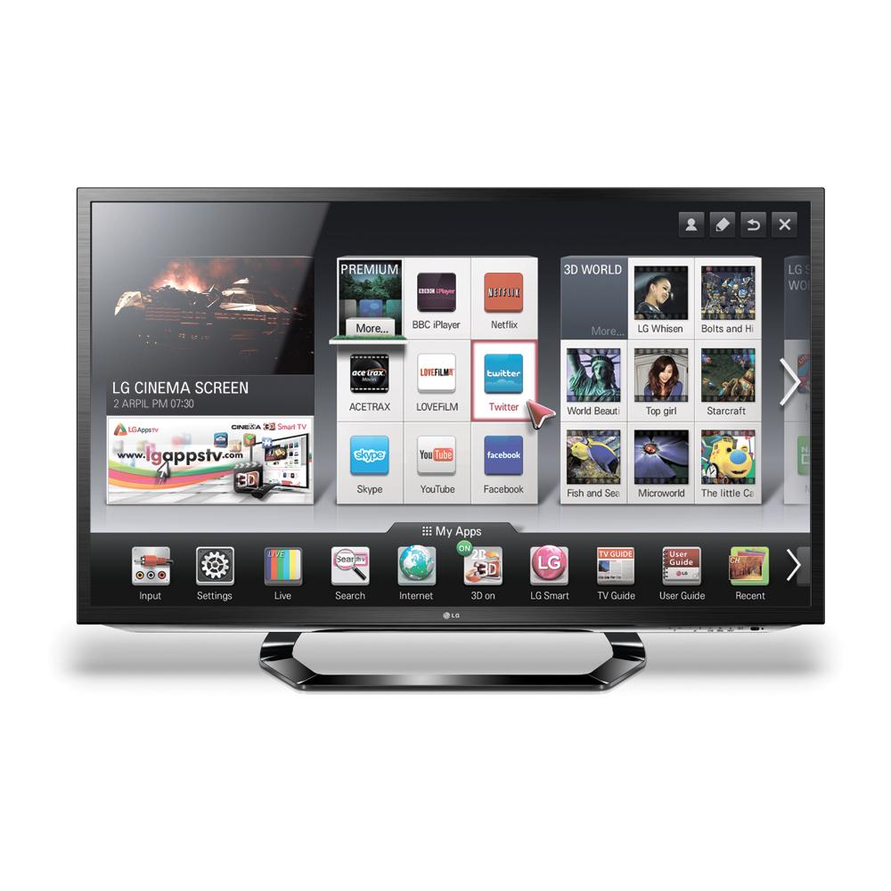 SAMSUNG HWE350 + 42 inch 3D LED Television, LG 42-LM620
