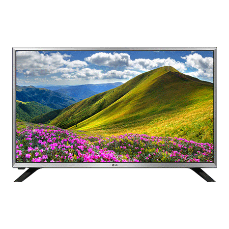 LG 32LJ590U, 32 Smart HD Ready LED TV Silver with Freeview & webOS
