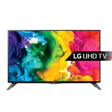 LG 40UH630V, 40 Smart Ultra HD 4K LED TV with Freeview and Freesat - Black