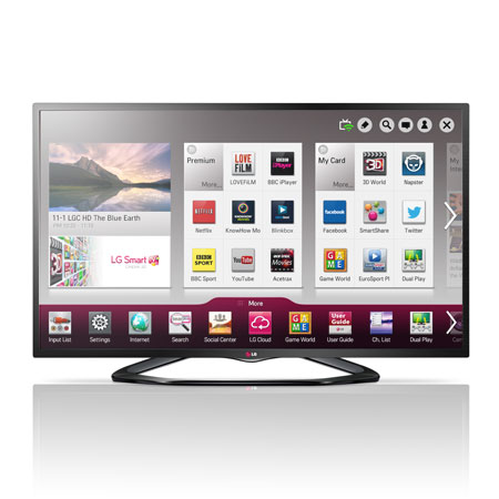 LG 42LN575V, 42 Full HD Smart LED TV with Built-In Wi-Fi and Freeview HD.Ex-Display