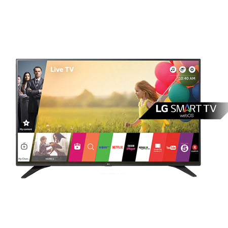 LG 43LH604V, 43 Smart Full HD LED TV with Freeview HD, webOS 3.0 and Triple XD Engine