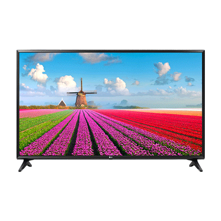 LG 43LJ594V, 43 Smart Full HD LED TV Black with webOS, Freeview HD, Freesat HD & Freeview Play