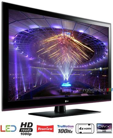 lg 47le5300 47 hd 1080p ultra slim led tv with 100hz 4x hdmi usb connectivity